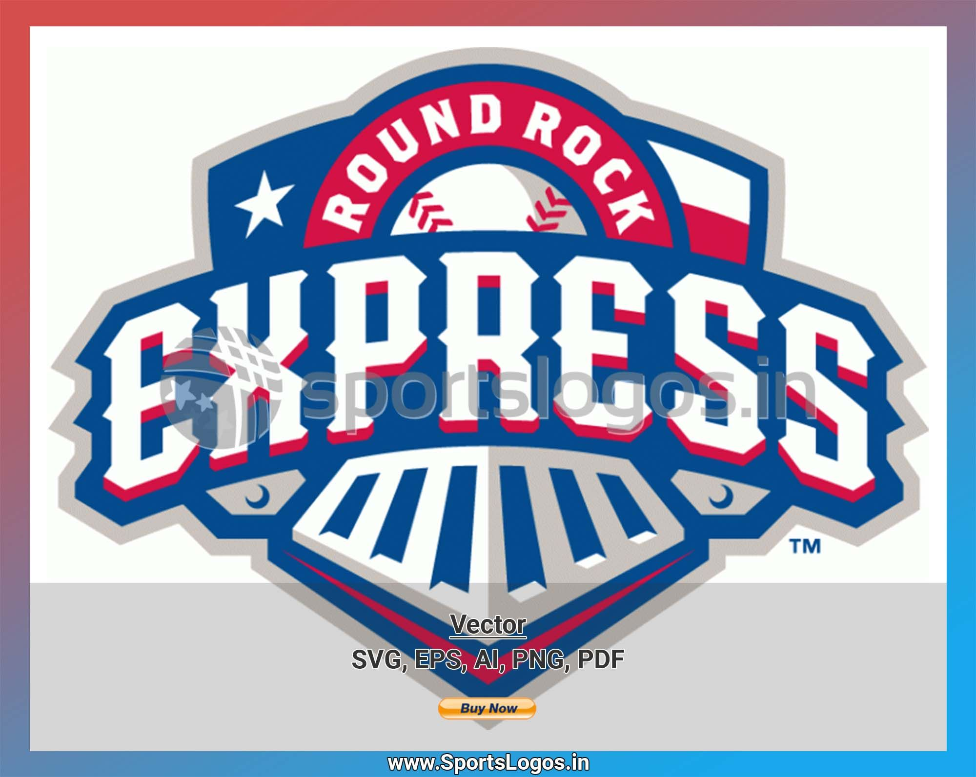 Round Rock Express Baseball Sports Vector Svg Logo In 5 Formats Spln003695 Sports Logos Embroidery Vector For Nfl Nba Nhl Mlb Milb And More Round Rock