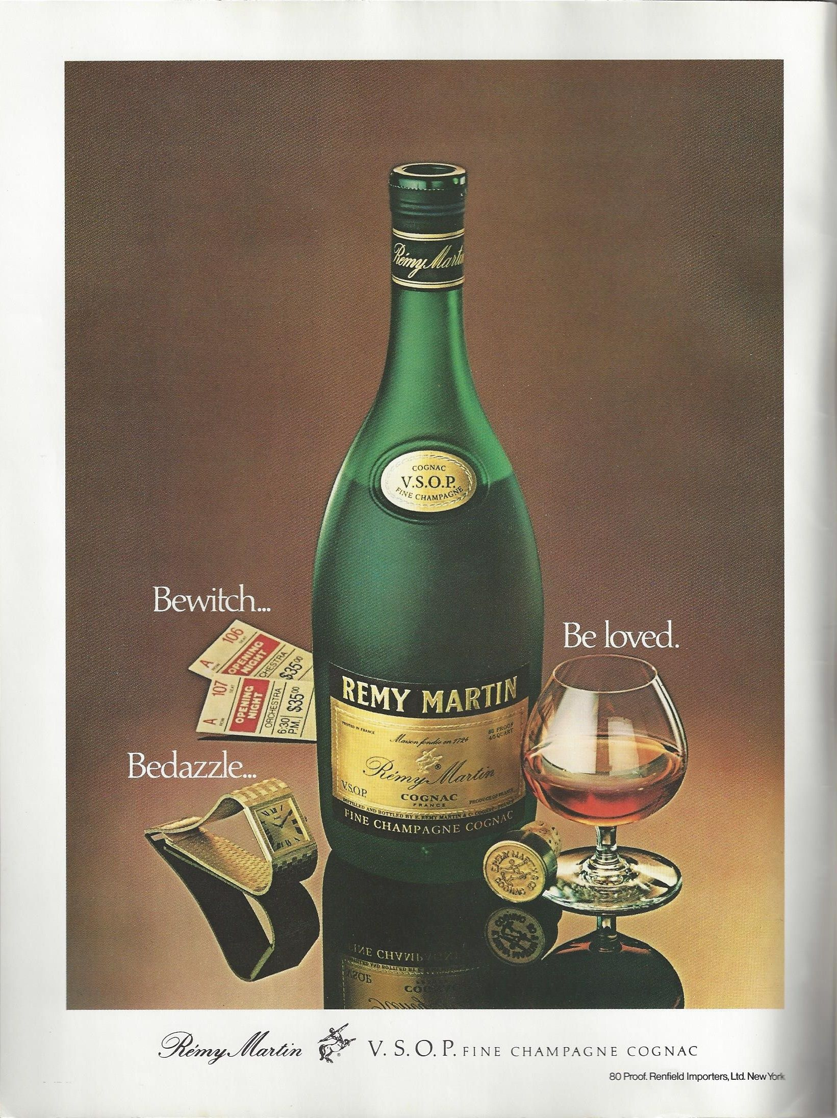 Remy Martin VSOP cognac (1979) | 1970s Print Advertising