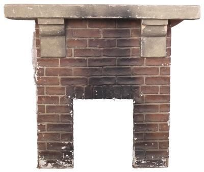 How To Clean Cement Fireplace Mantle Hearth