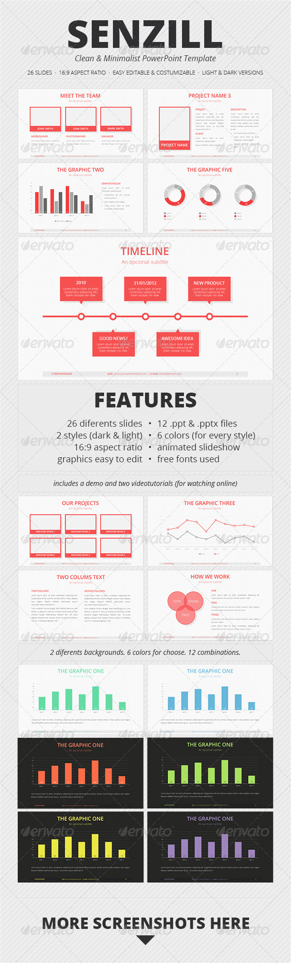 Yellow Ruler 02 - PowerPoint Templates