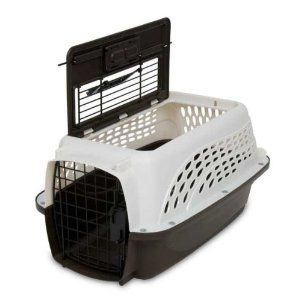 Stackable Pet Carrier Two Doors Are Awesome Pet Kennels Pet Mat Pet Carriers