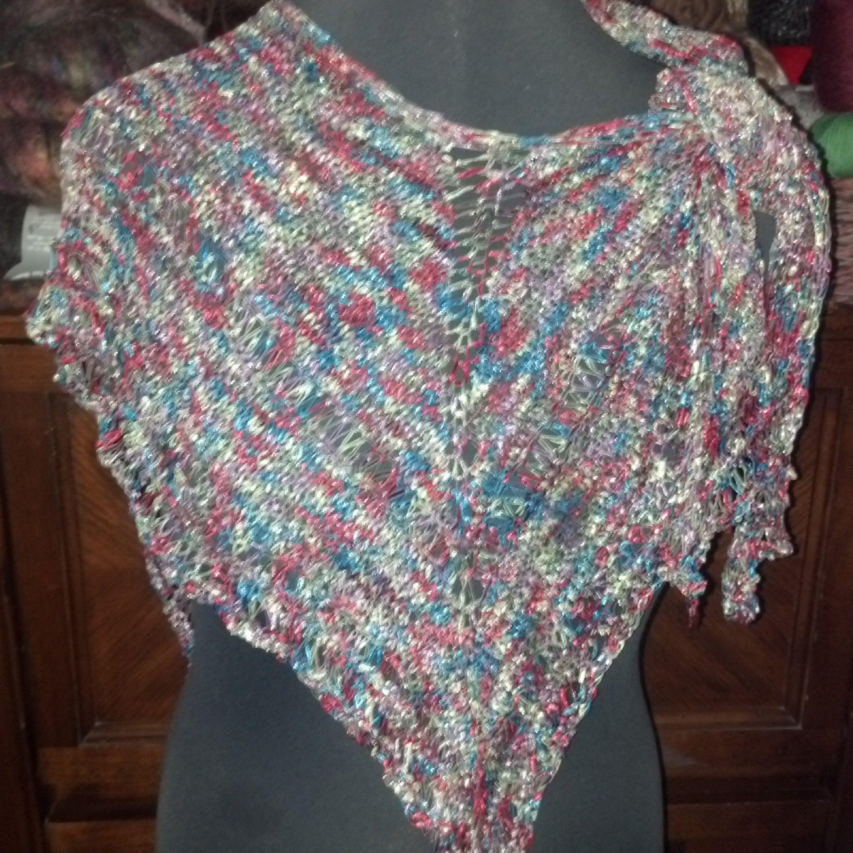 Modern Knitting Patterns For Ribbon Yarn Frieze - Blanket Knitting ...
