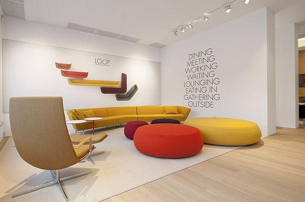 Arper bij Thomassen Interieurs | Furniture | Pinterest | Showroom ...
