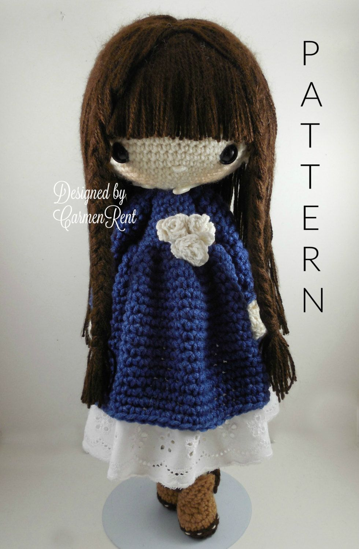 Matilda amigurumi doll crochet pattern pdf by carmenrent on etsy matilda amigurumi doll crochet pattern pdf by carmenrent on etsy bankloansurffo Images