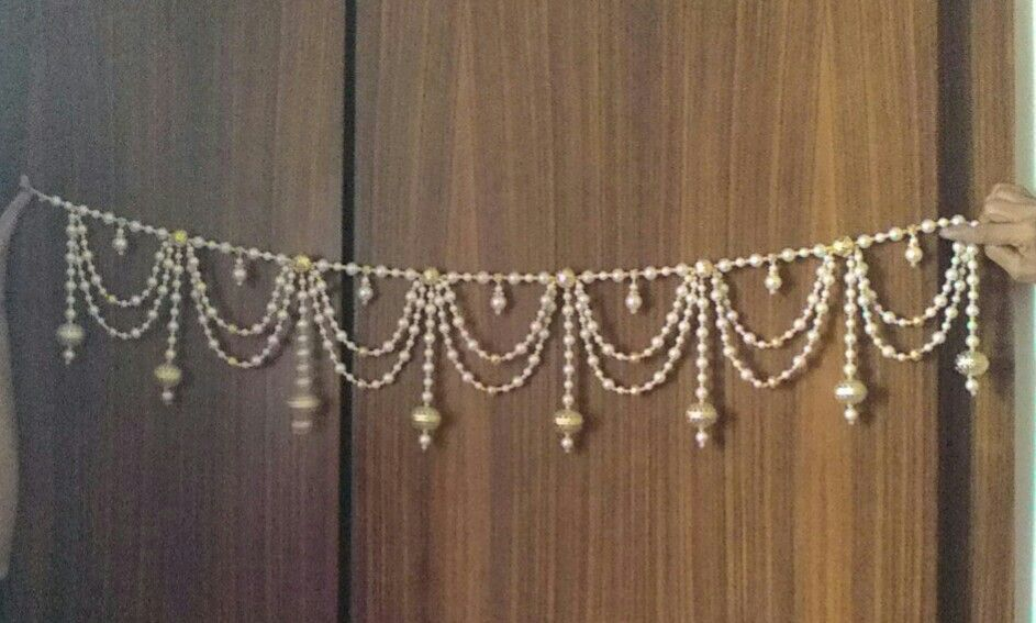 Bon Easy Crafts · Moti Toran Beaded Door Curtains, Diwali Decorations, House  Decorations, Flower Decorations, Decoration