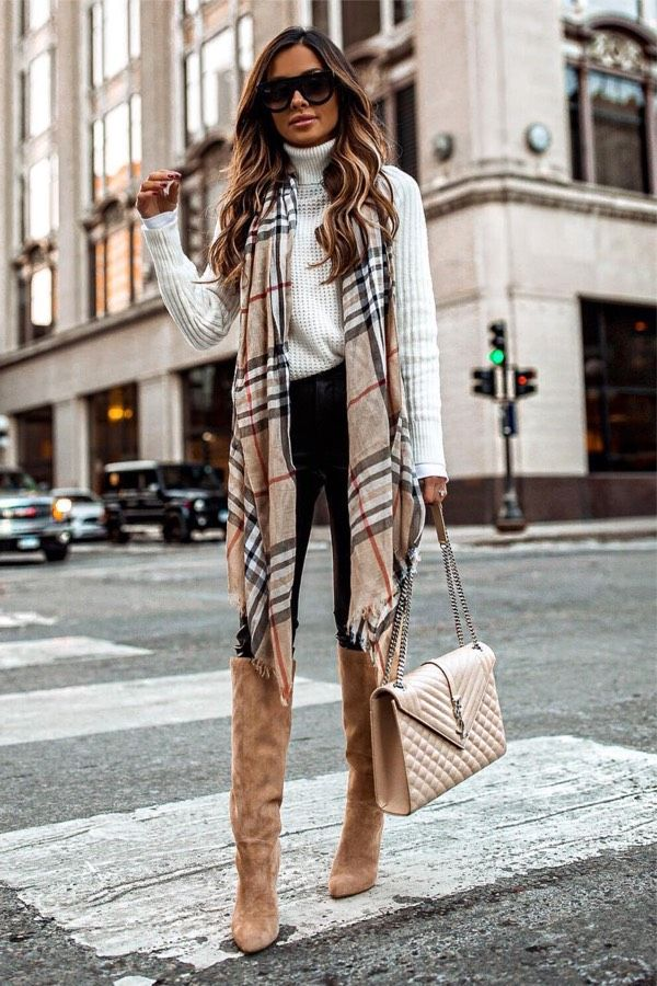 22 Pretty Plaid Outfits To Keep You Warm This Winter - #winterfashion