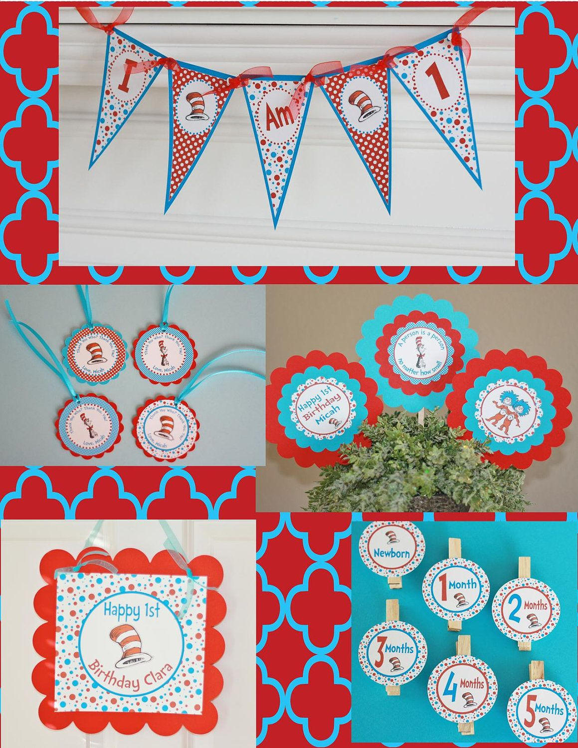 Thing 1 And Thing 2 Baby Shower Theme 24 best Twin Baby Shower ...