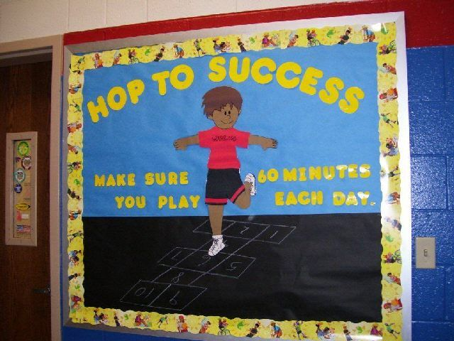 Classroom Pe Ideas : Bulletin board ideas classroom