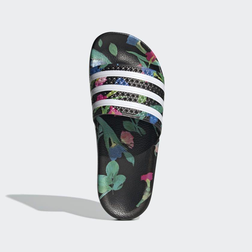 adidas Adilette Slides - Black | adidas US | Adidas slippers ...