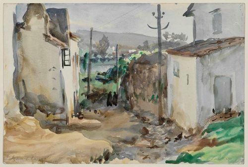 John Singer Sargent, Santiago de Compostela, Spain, 1903.