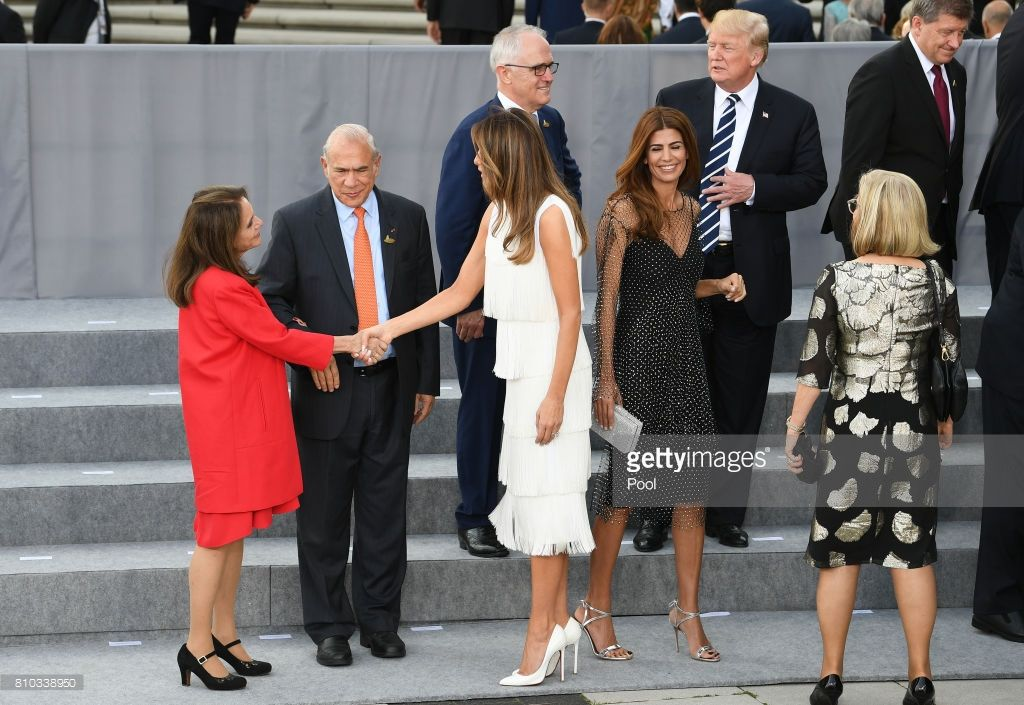 Nations Hold Hamburg Summit Photos And Premium High Res Pictures First Lady Melania Trump First Lady Donald And Melania Trump