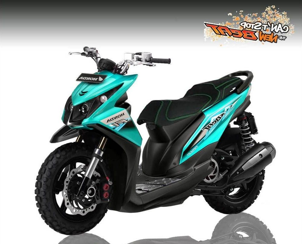 Modifikasi Motor Beat 2019 Warna Hitam  Mobiliobaru