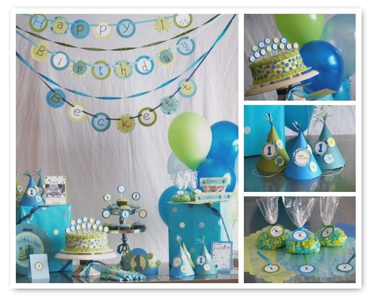 party decorations Customizable Party Decorations by Le Poppy