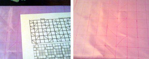 Pouf plissé - Tutos et idées du net