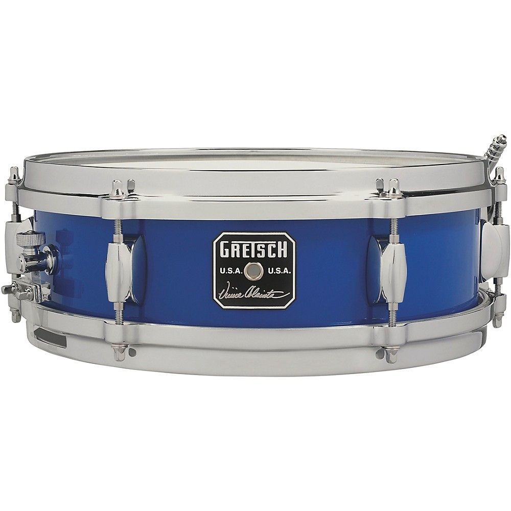 Gretsch Drums Vinnie Colaiuta Signature Snare Drum 12 x 4 in. Cobalt Blue