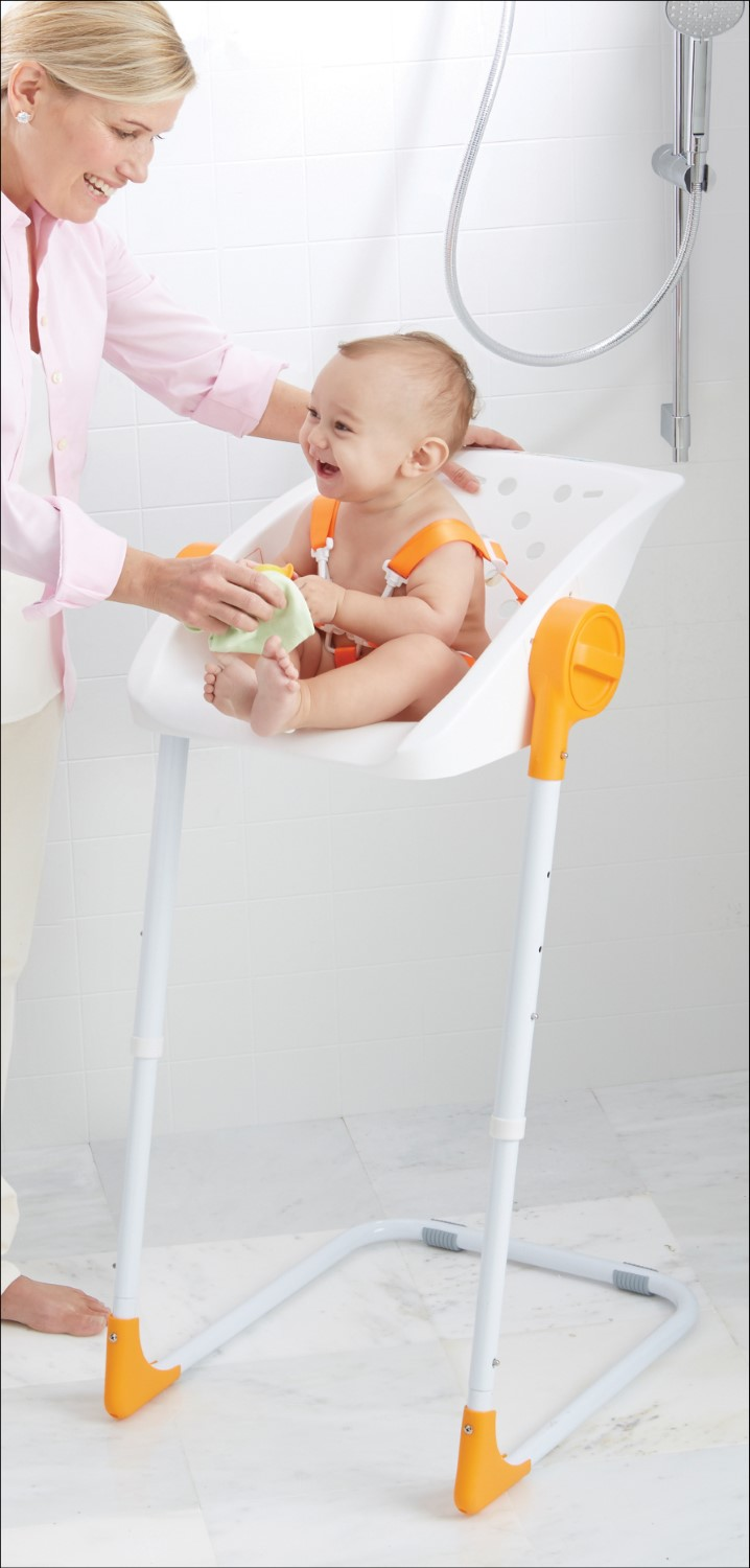PRIMO Charli Adjustable Baby Bath Time Shower Chair Seat W/ Safety ...