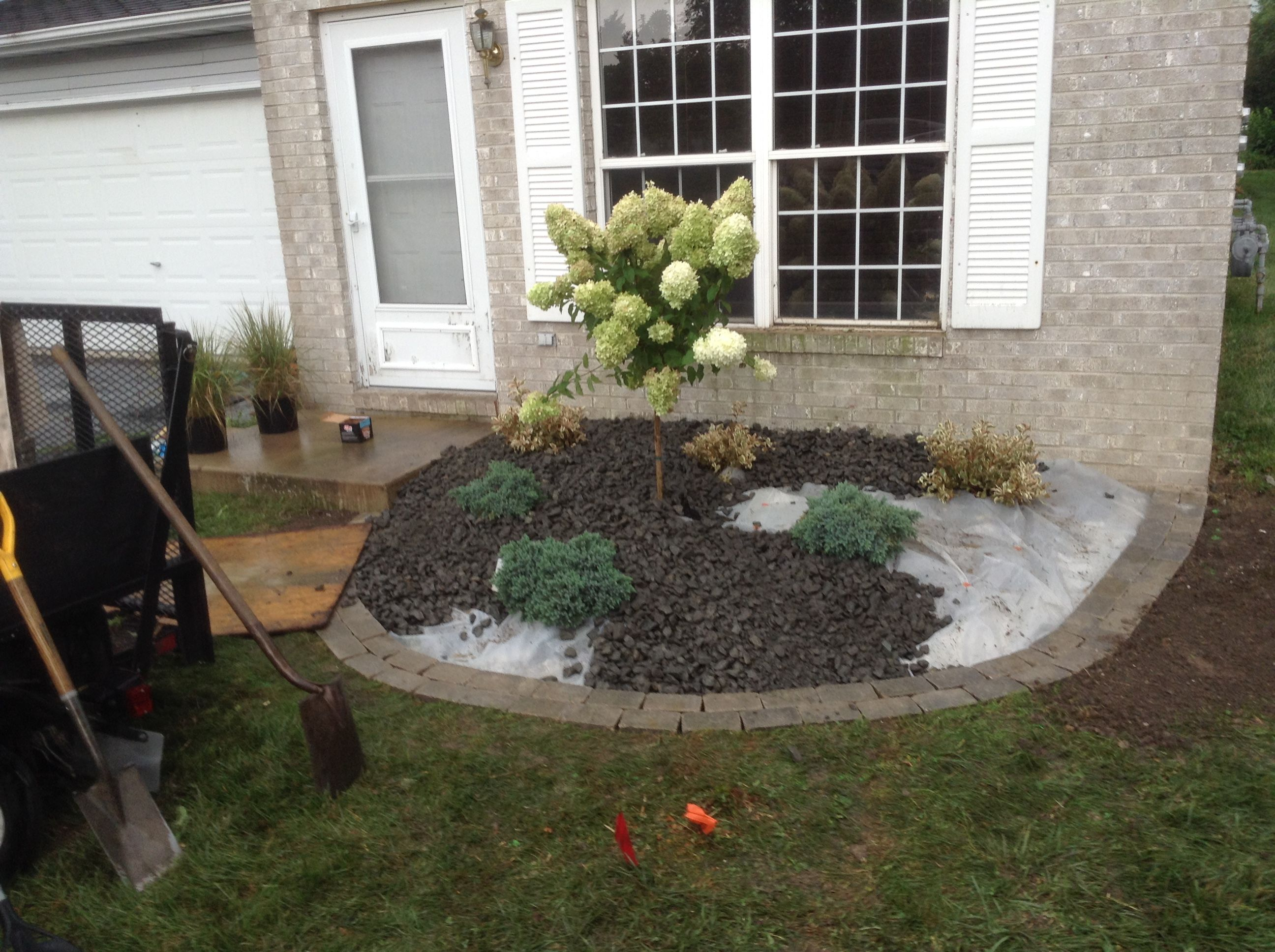 Applying The Decorative Stone Maylen Black With 6 Mil