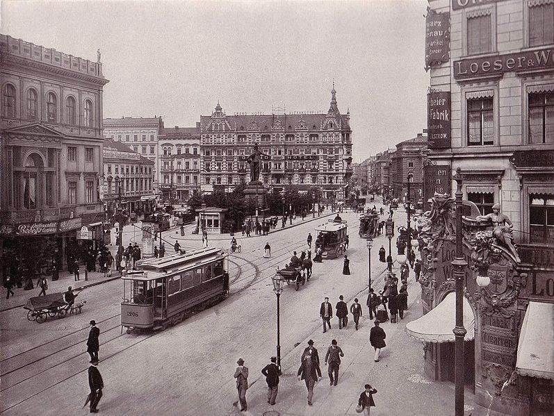 File Berlin Alexanderplatz 1903 Jpg Berlin Germany Historical Photos Germany