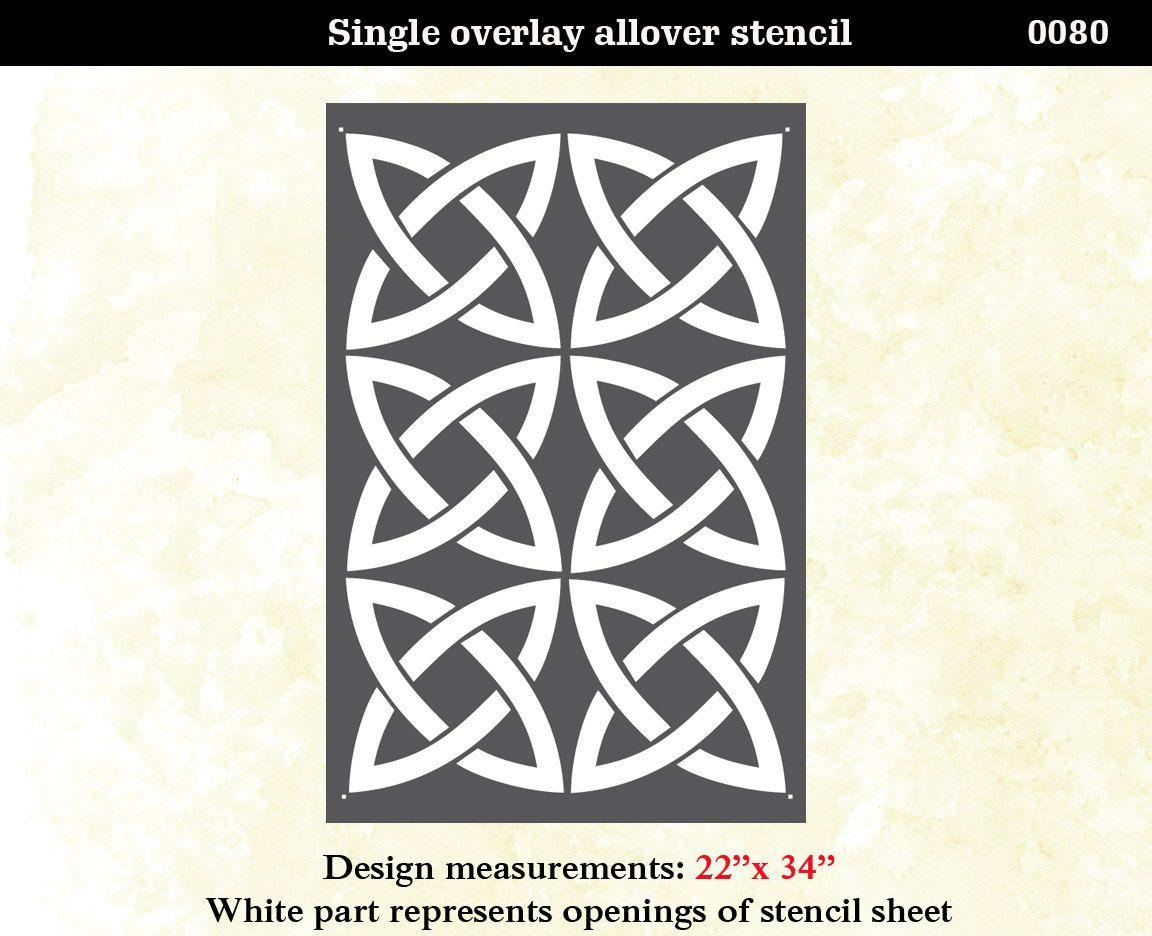 Wall stencil celtic crafty ideas pinterest wall stenciling wall stencil celtic amipublicfo Gallery