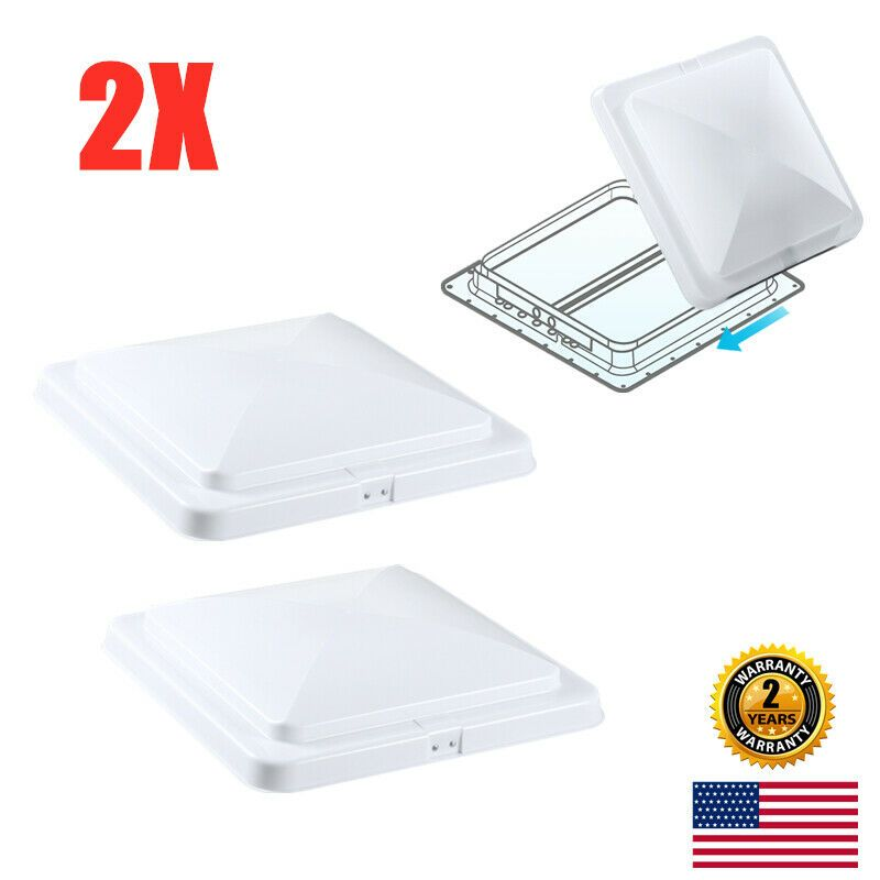Sponsored Ebay Universal 14 X14 Replace Access Rv Roof Vent Cover Lid Camper Trailer Motorhome Covered Trailers Roof Vent Covers Camper Parts
