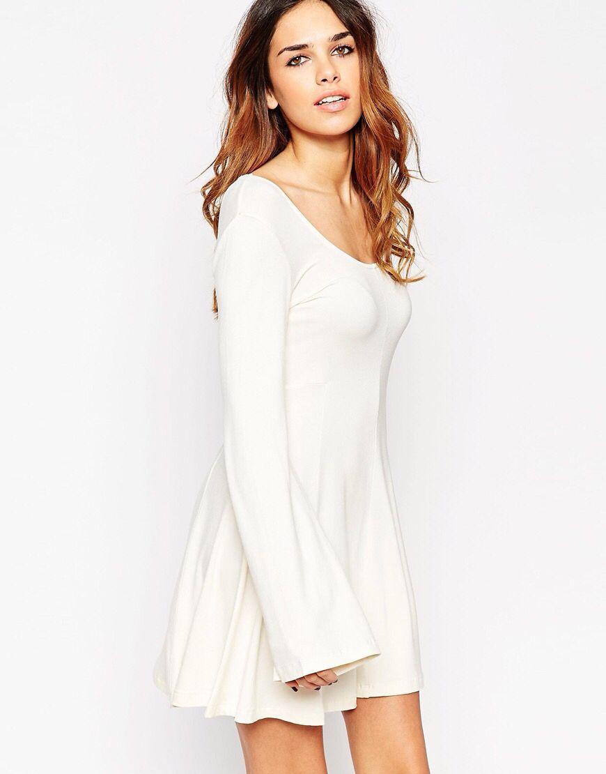Simple cream dress more ideas pinterest simple dresses and
