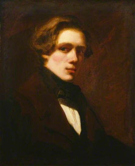 """William Powell Frith"", 1838, by William Powell Frith (British, 1819-1909)."