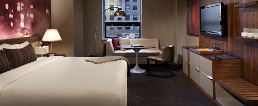 Grand Hyatt New York, also hypo-allergenic double rooms - alkaen 200 e per yö, hyvä sijainti Grand Centralin vieressä ja palvelut