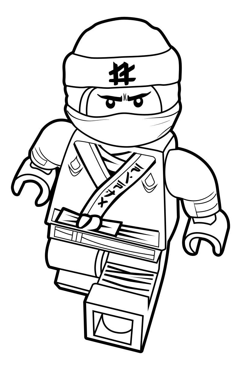 Lego Ninjago Zane Coloring Pages Easy To Color Lego Movie Coloring Pages Lego Coloring Pages Ninjago Coloring Pages
