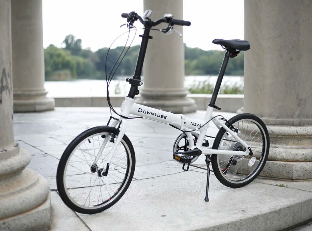 Downtube Nova Is A Lightweight Folding Bike That Brings Innovation