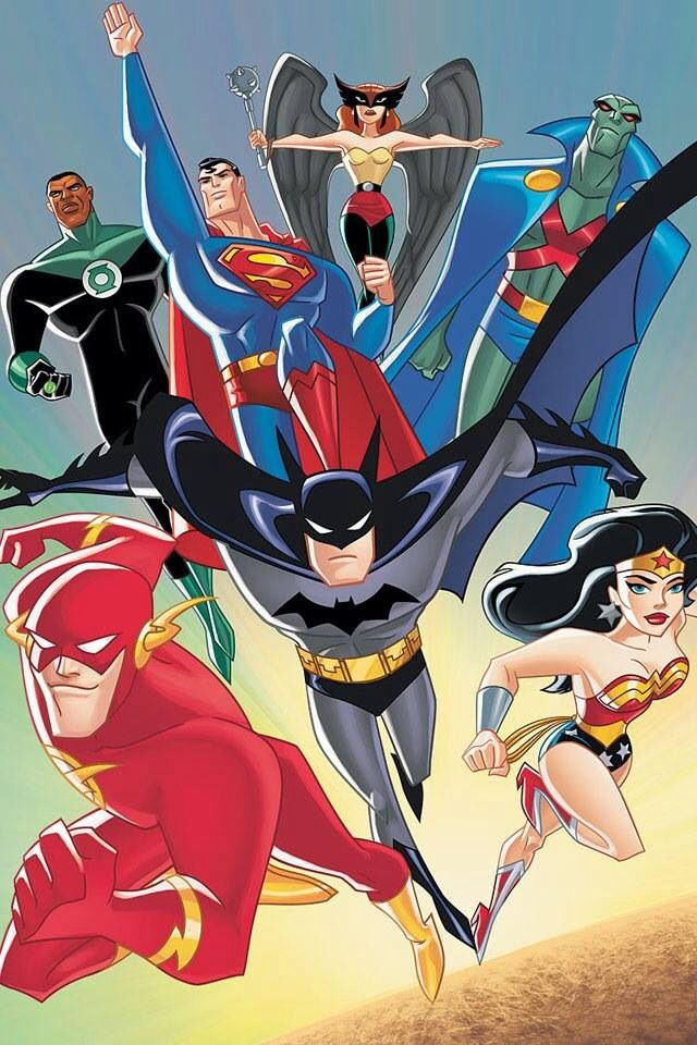 Justice League the Animated Series http://ebay.to/1MkkL4b | DC ...