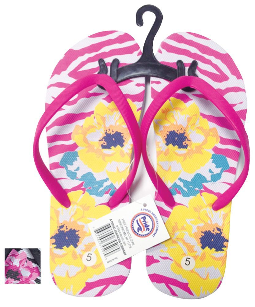 53ae733081f1e 24 Units of LADIES FLIP FLOP FLOWERS ASSORTED SIZES 5-10 AND COLORS - Women s  Flip Flops