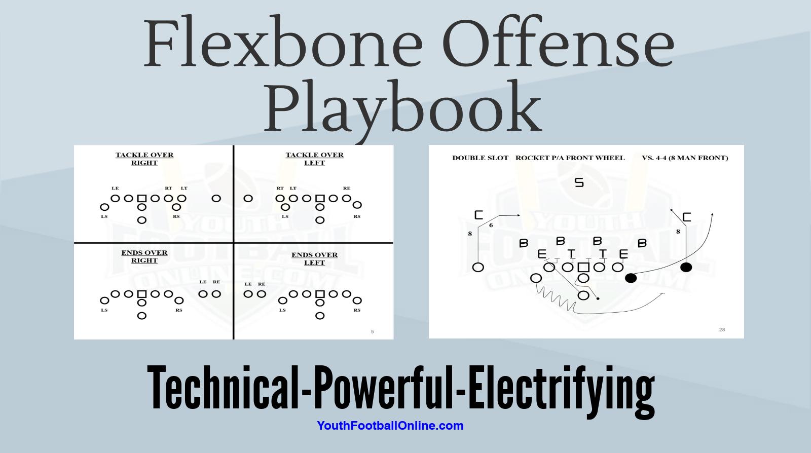 Flexbone Offense Playbook For Youth Football Football Playbook Youth Football Football Techniques Flag Football Plays