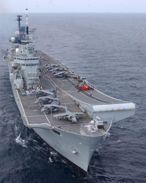 Royal Navy Aircraft Carriers, Navy