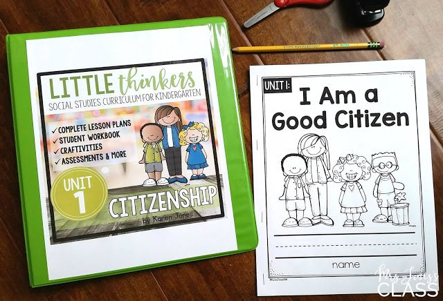 little thinkers a social studies curriculum just for kinders