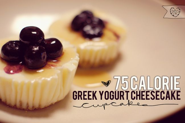 75 calorie greek yogurt cheesecake.