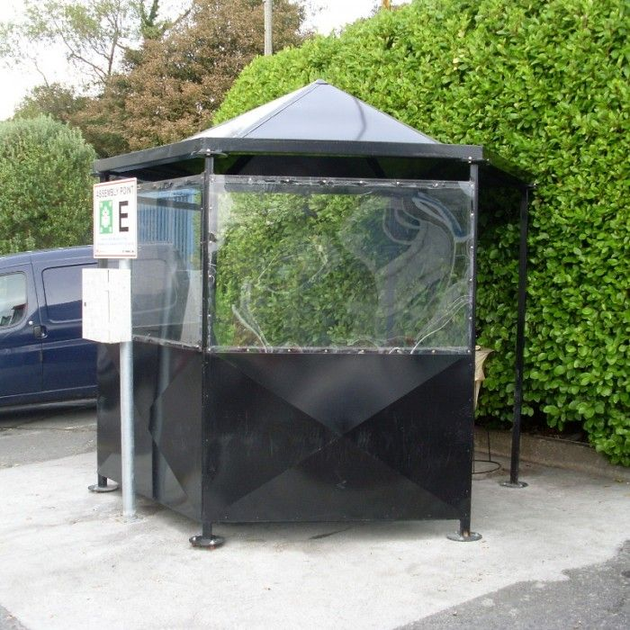 Pagoda Smoking Shelter | Larkin Street Products Manufacturers in Ireland and the UK & Pagoda Smoking Shelter | Larkin Street Products Manufacturers in ...