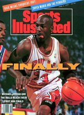 Michael Jordan Reaches NBA Finals June 3, 1991 Sports Illustrated Cover - www.sicovers.com