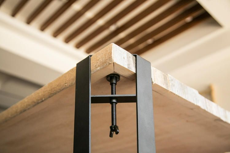 Elegant Clamp On Table Legs Attach In Seconds Industrial