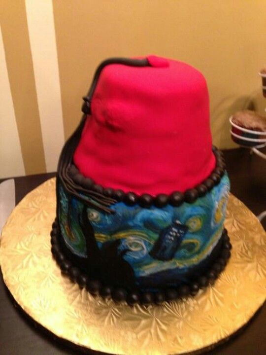 Doctor Who cake