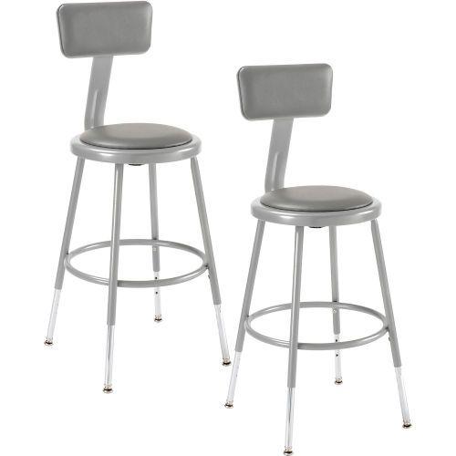 Phenomenal Shop Stool With Backrest And Padded Seat Adjustable Height Frankydiablos Diy Chair Ideas Frankydiabloscom