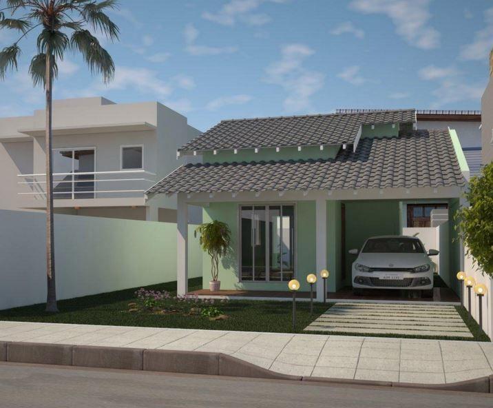 Fachadas de casas simples de un solo piso fachadas new for Fachadas de casas de un solo piso
