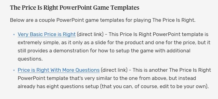 Customize A Powerpoint Game For Your Class With These Free Templates