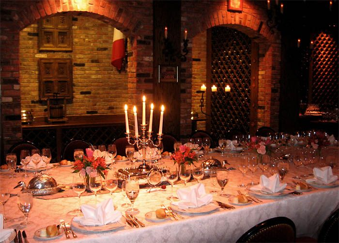 The Manor Restaurant Wine Cellar Available For Private Parties