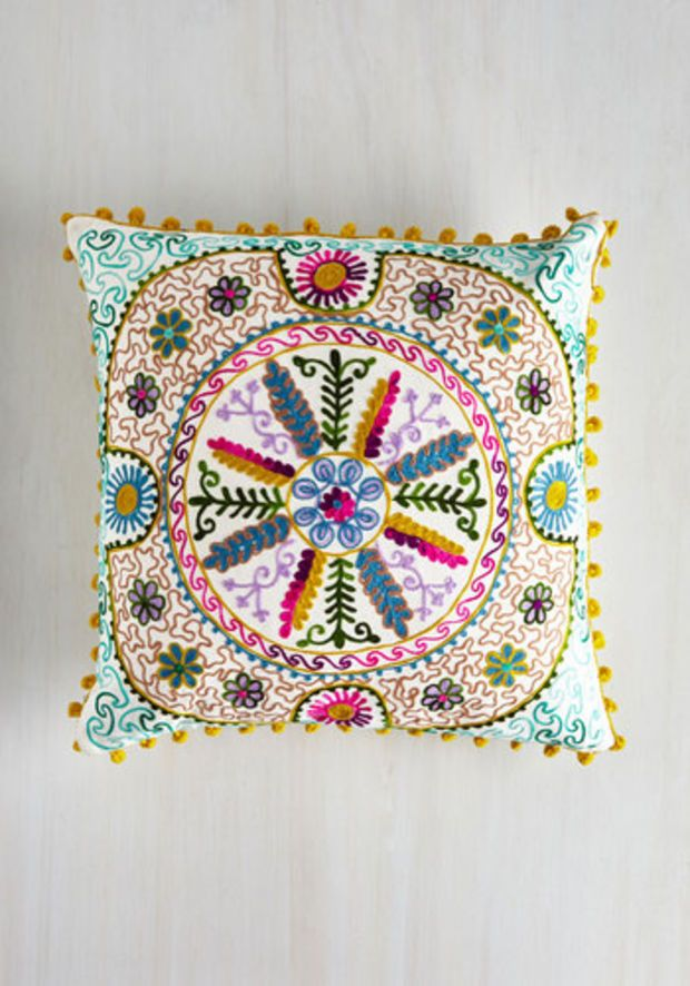 Boho Bo Homey Pillow By Karma Living From ModCloth