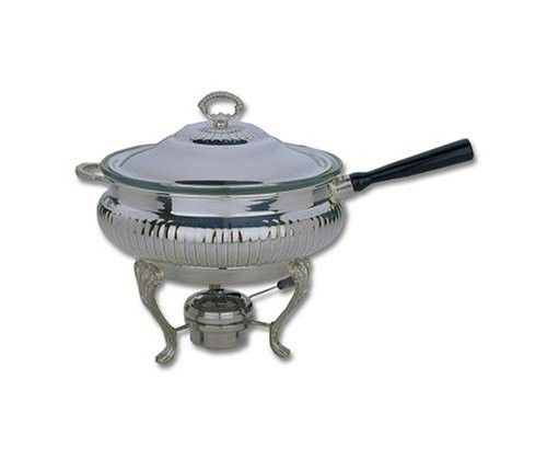 Reed Barton Sheffield Collection 3 Quart Silver Plated Chafing Dish