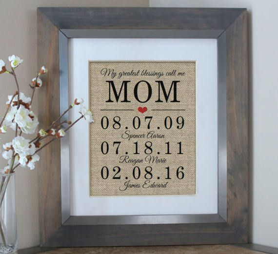Bridal Gift From Mother: Unique Mothers Day Personalized Mother Of The Bride Gift