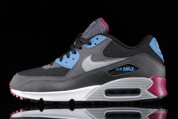 Nike Air Max 90 Essential - Black - Blue - Pink - SneakerNews.com ...