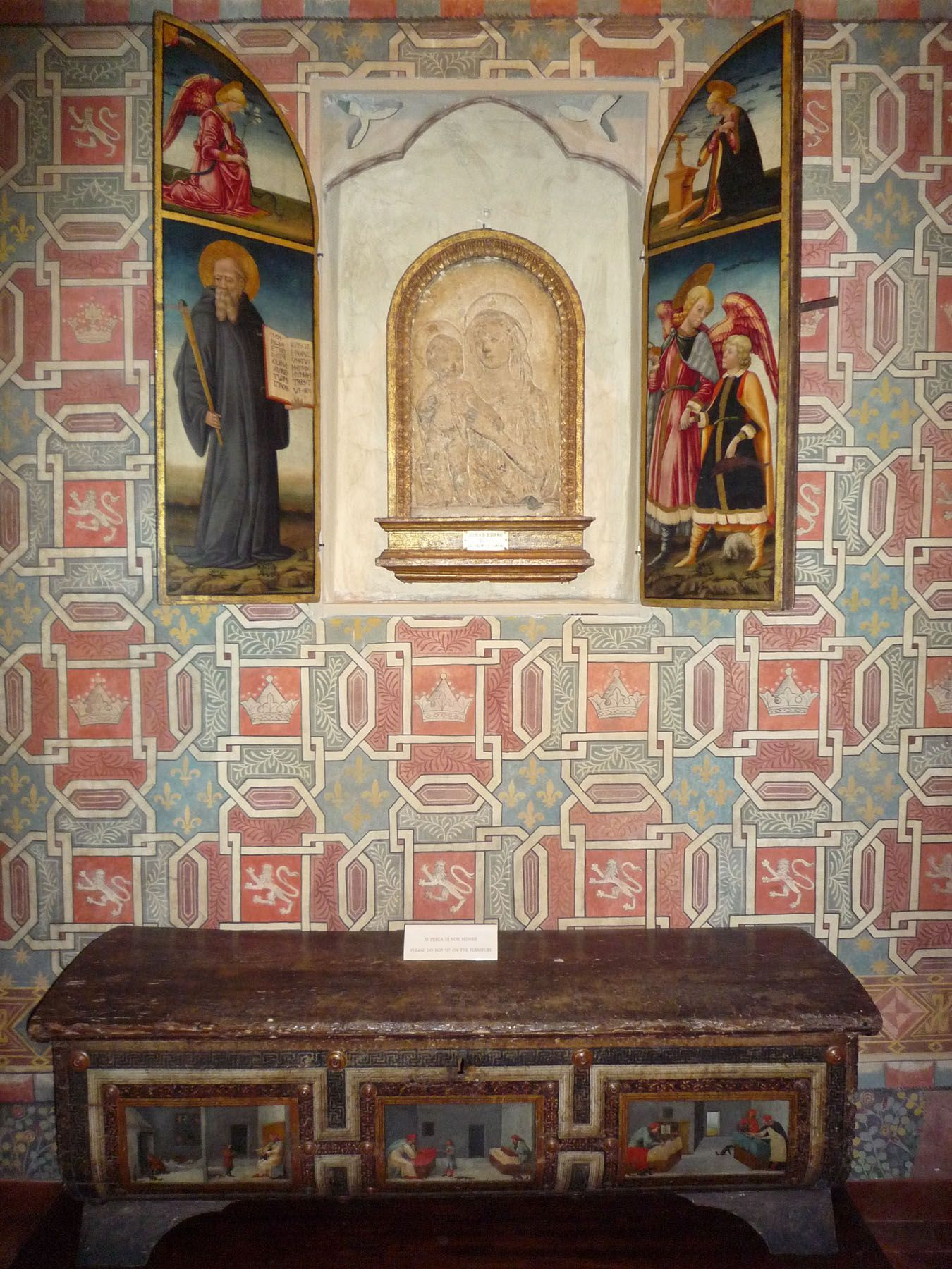 Museo della casa fiorentina antica firenze nelle for Camere da letto firenze