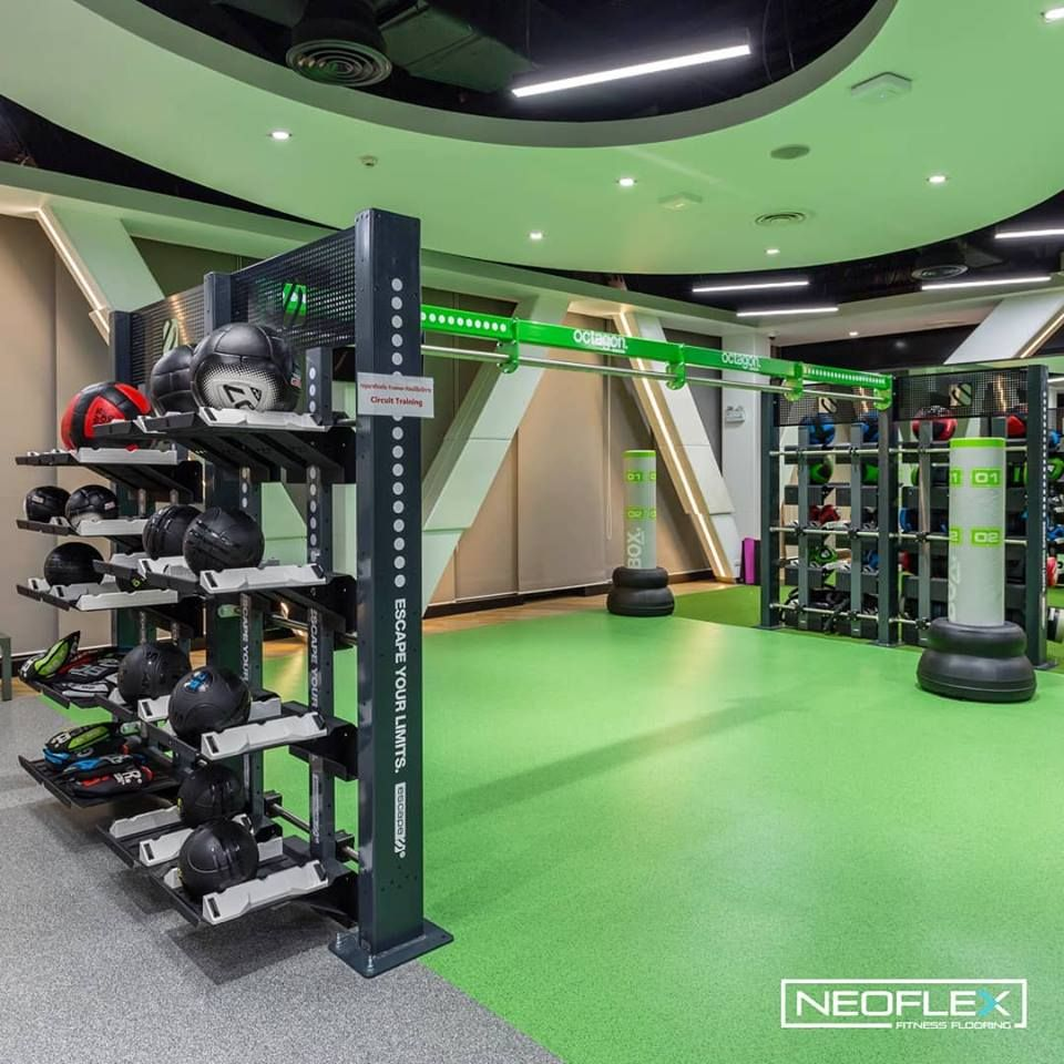 Neoflex Fitness Flooring at Siam Cement Group's Wellness