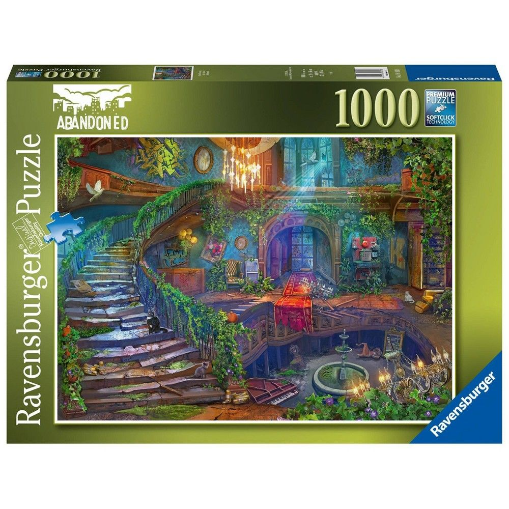 Ravensburger Abandoned Places Hotel Vacancy Jigsaw Puzzle 1000pc Ravensburger Abandoned Places Abandoned Hotels